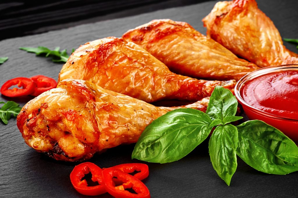 Basil & Chicken