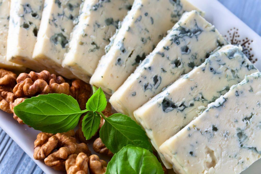 Basil & Blue Cheese