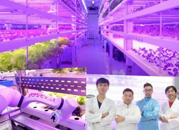 建設全亞洲第一間全室内的「數字化植物工厰」Digital Plant Factory